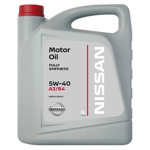 Nissan Motor Oil fully synthetic 5W-40 A3/B4 5л